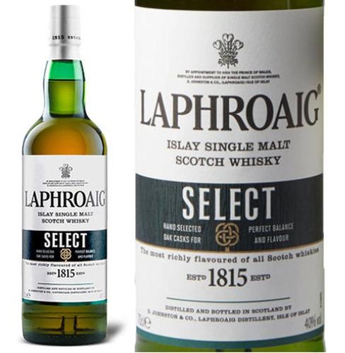 whisky laphroaig select single malt 700ml en estuche