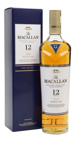 whisky macallan 12 años double cask !!