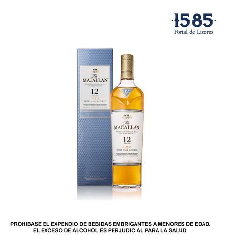 whisky macallan triple cask matured 12 - ml a $364
