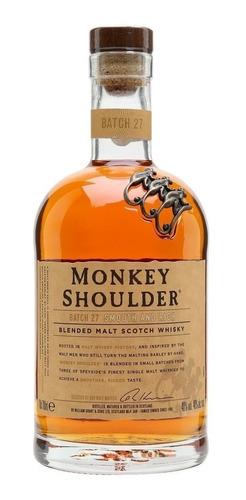 whisky monkey shoulder blended malt 700ml whiskey escoces