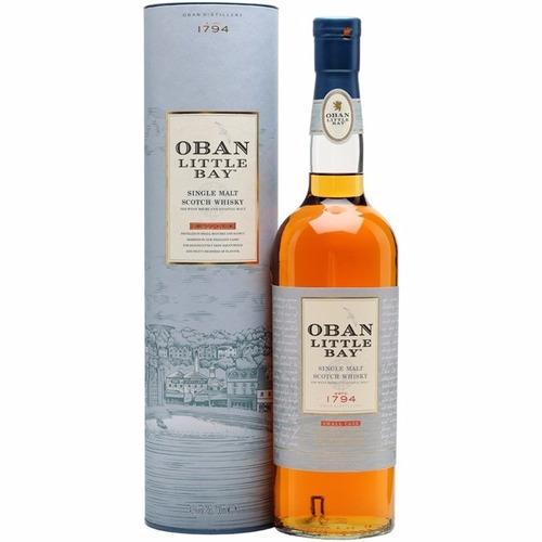 whisky oban little bay single malt en lata escoces
