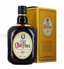 whisky old parr 12 años 1lts