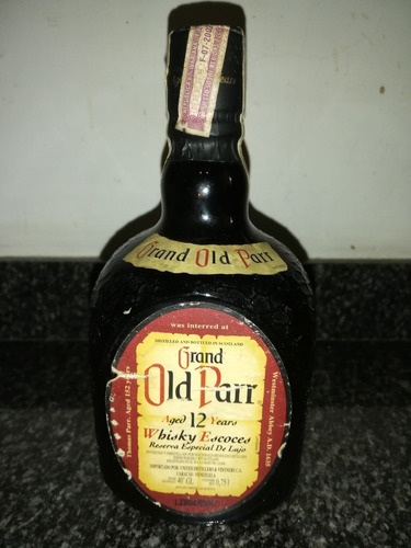 whisky old parr 12 años de 750ml reserva de lujo