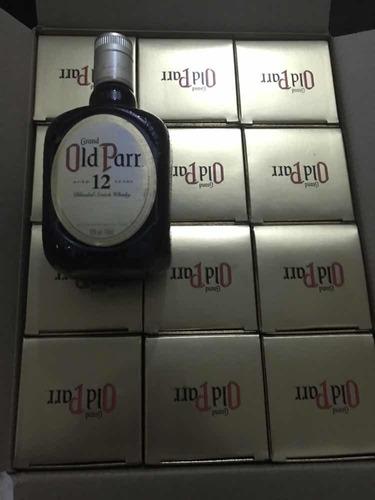 whisky old parr x caja