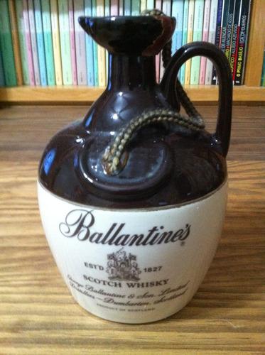 whisky porcelana ballantine´s george ballantine&sons limited