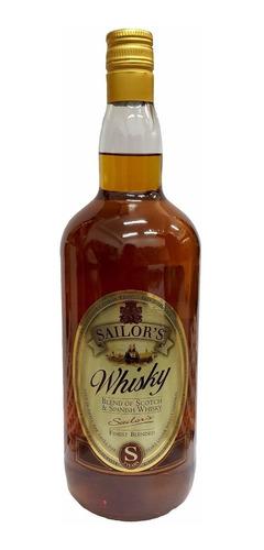whisky sailors scotch & spanish blend 1500cc envío gratis