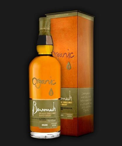 whisky single malt benromach organic 700ml en estuche