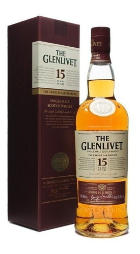 whisky single malt glenlivet 15 años zona colegiales