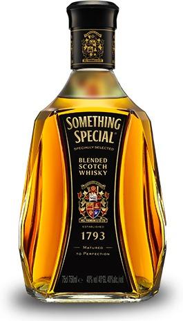 whisky something special y johnie rojo  litro por cajas