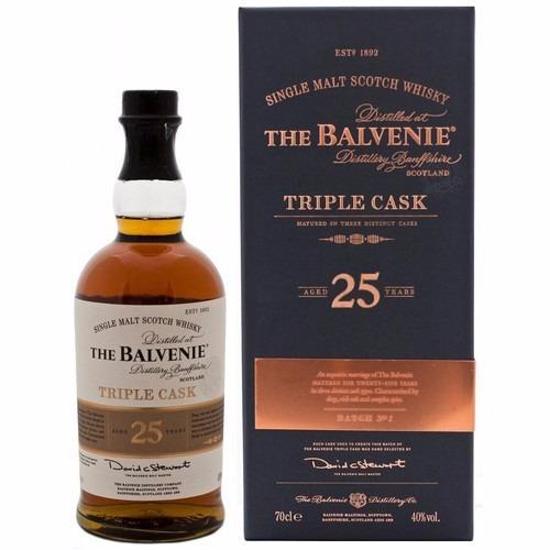 whisky the balvenie triple cask single malt 25 años