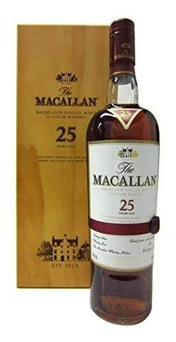 whisky the macallan 25 years 700 ml