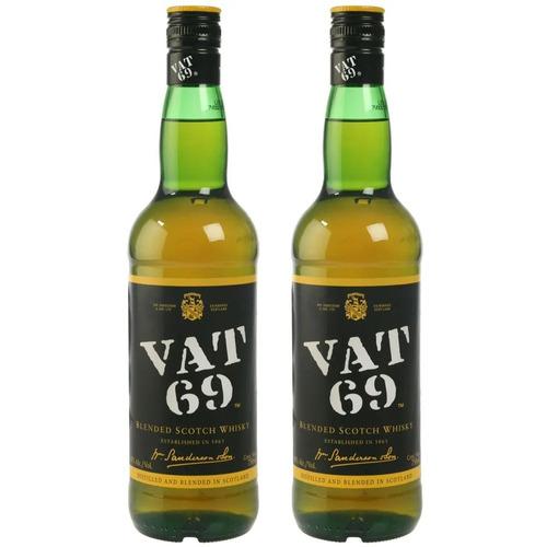 whisky vat 69 2 botellas envio gratis en capital federal