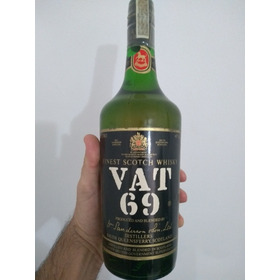 Whisky Vat 69 Lacrado Original Dec. 50