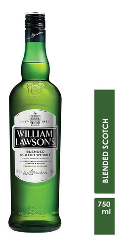 whisky william lawsons de 750ml.