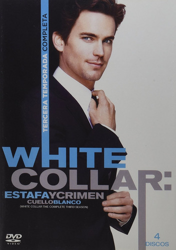 white collar cuello blanco tercera temporada 3 tres dvd