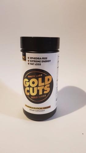 white labz gold cuts pre entreno energia definicion musculo magro (90 caps)
