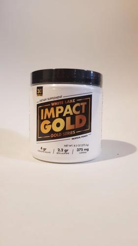 white labz pre entreno impact gold 30 servicios varios sabores!