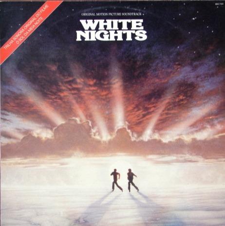 white nights - banda de sonido - phil collins- lp impor 1986