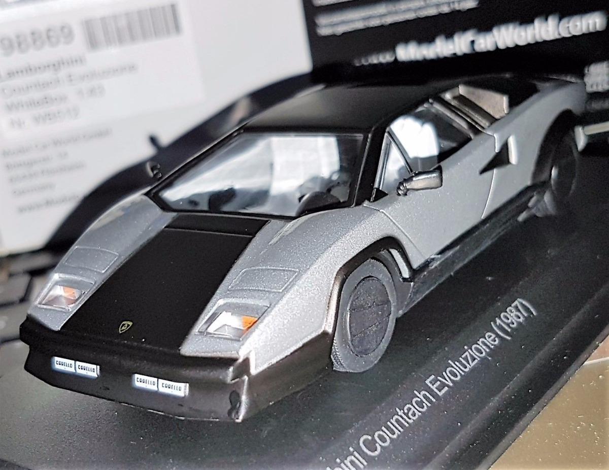Whitebox Lamborghini Countach Evoluzione 1987 Escala 1 43 R 221