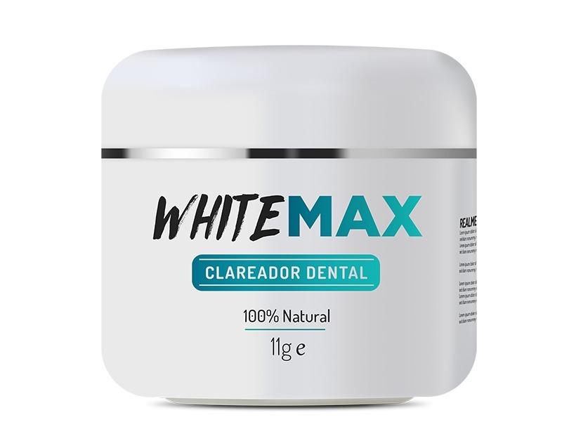 Whitemax Clareador Dental 1 Pote Seus Dentes Bem Branquinhos R 59