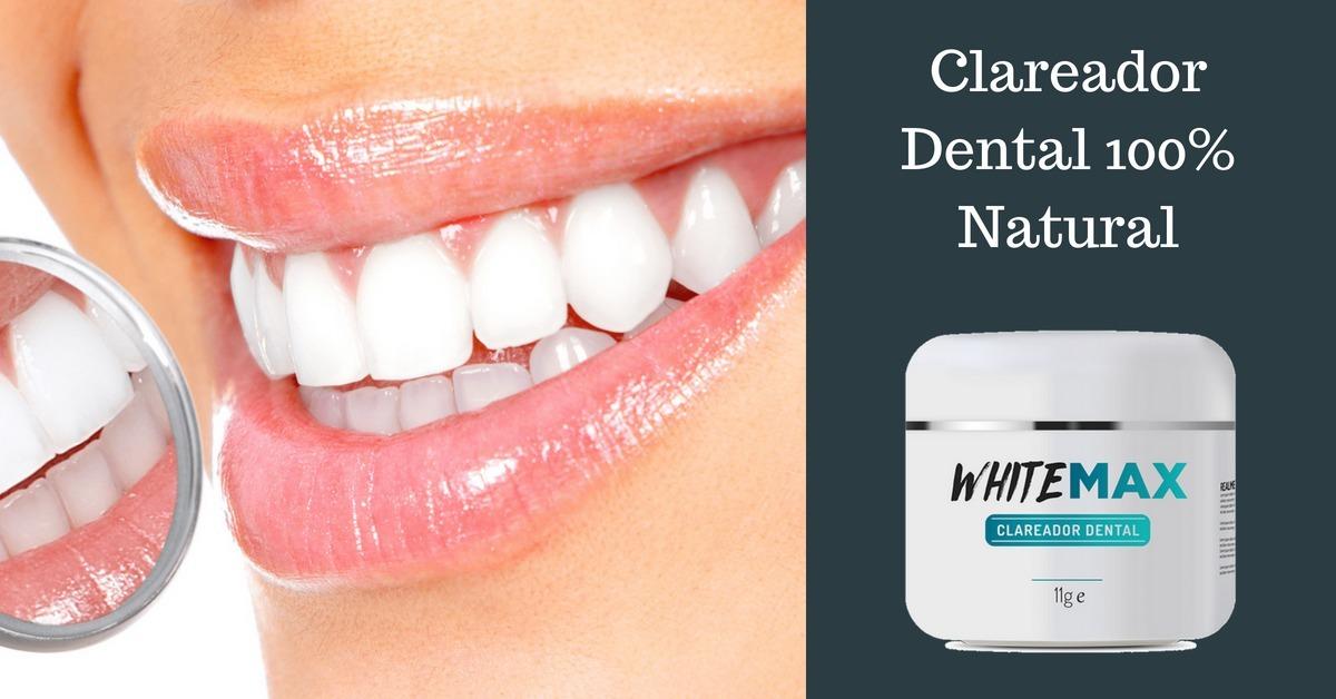 Whitemax Clareador Dental 100 Natural Envio Imediato R 97 00