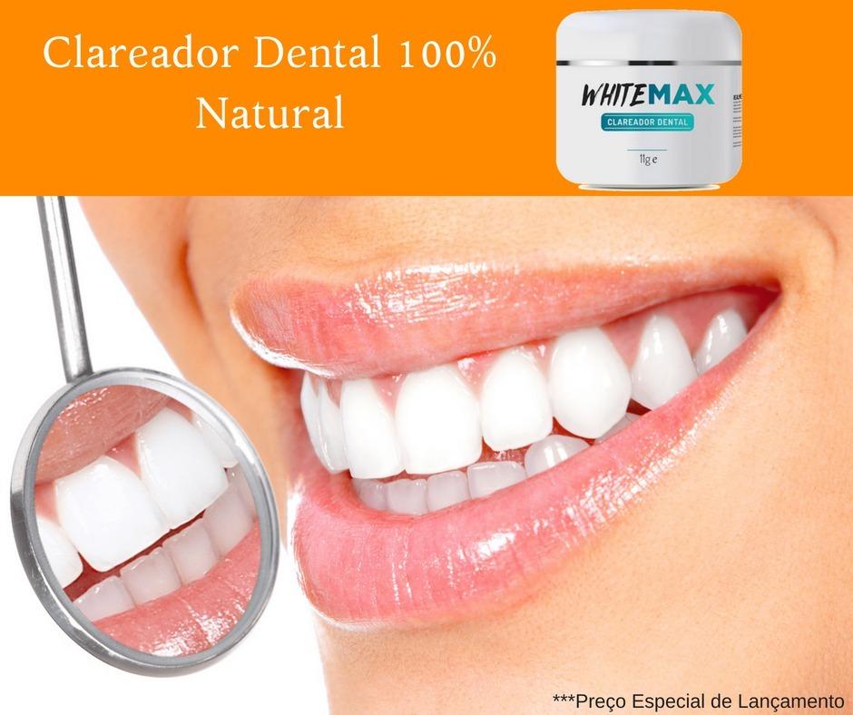 Whitemax Clareador Dental 100 Natural White Max R 97 00 Em
