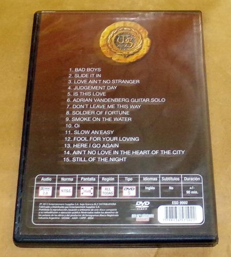 whitesnake live in russia dvd argentino / kktus