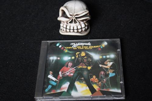 whitesnake  live   in the heart of the city   cd importado