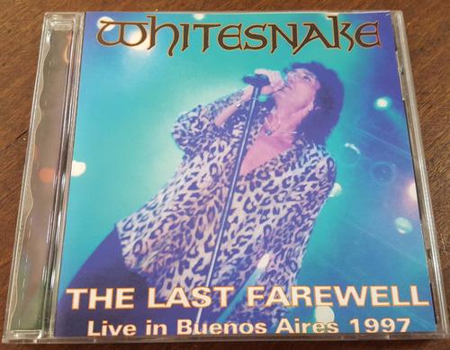 whitesnake -the last farewell cd bsas 97 deep purple rainbow