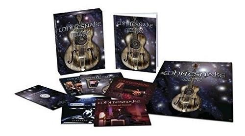 whitesnake unzipped deluxe edition usa import cd x 5 + dvd