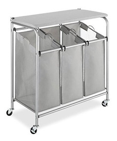 Tres Plegable Con Compartimentos Clasifica Mesa Para Whitmor qSpGVLUzM