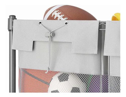 whitmor supreme 3organizador de bolsa, gunmetal gris