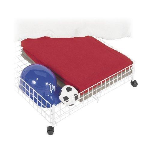 whitmor  sw balanceo debajo de la cama de la compra, blanca