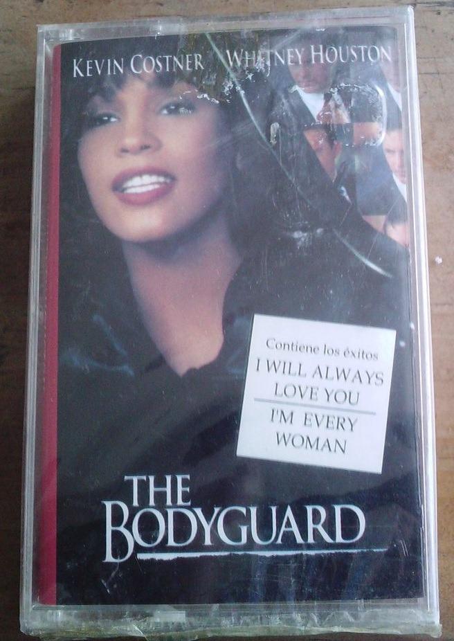 whitney houston bodyguard el guardaespaldas cassette sellado en mercado libre. Black Bedroom Furniture Sets. Home Design Ideas