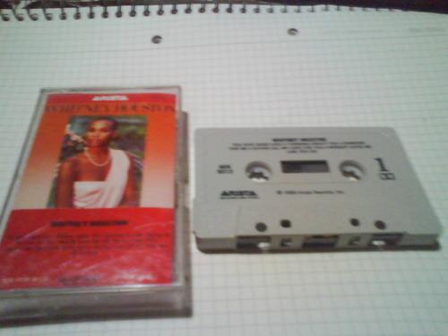 whitney houston cassette usa