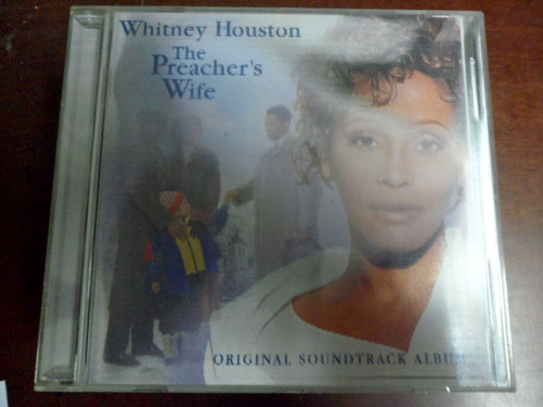 whitney houston cd the preacher´s wife sountrack lenticular