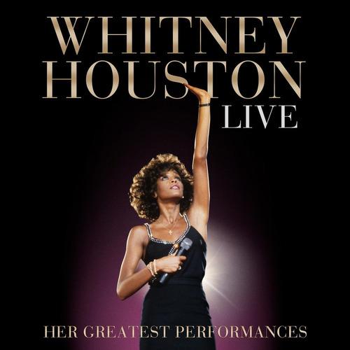 whitney houston live her greatest performances cd + dvd