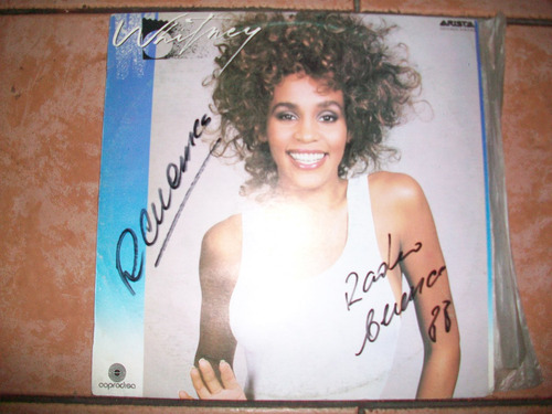whitney houston,  música discos de acetato lp, buen estado