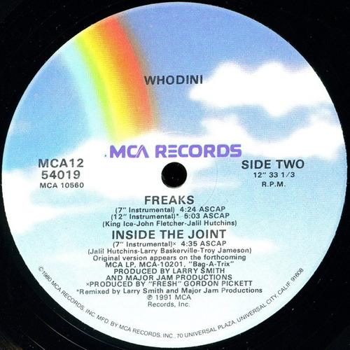 whodini     12 single  freaks