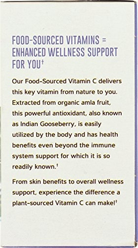 whole foods market, vitamina c de origen alimentario, 60 ct