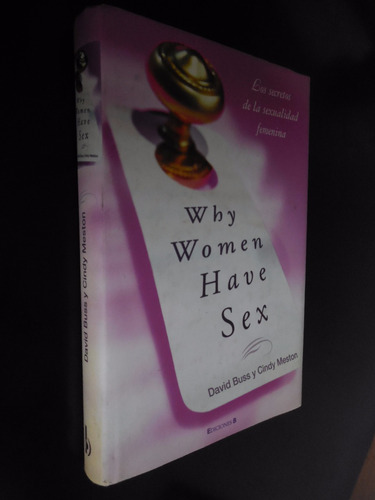 why women have sex david buss cindy meston