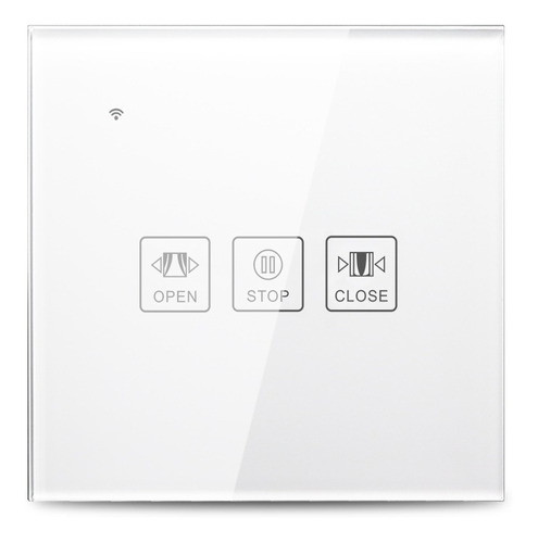 Wi-fi Inteligente Cortina Interruptor De Toque De Vidro Pain