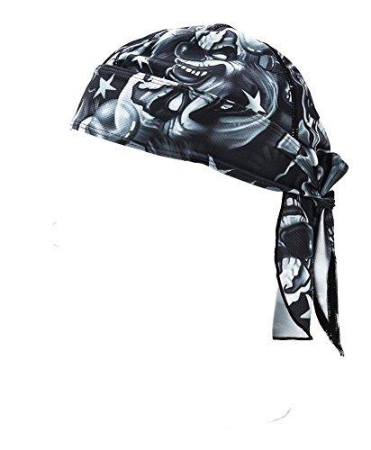 wicking beanie bandana de ciclismo ajustable - skull cap bea