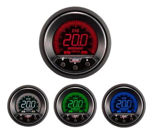wideband sonda bosch lsu4.9 52mm evo 4 colores prosport