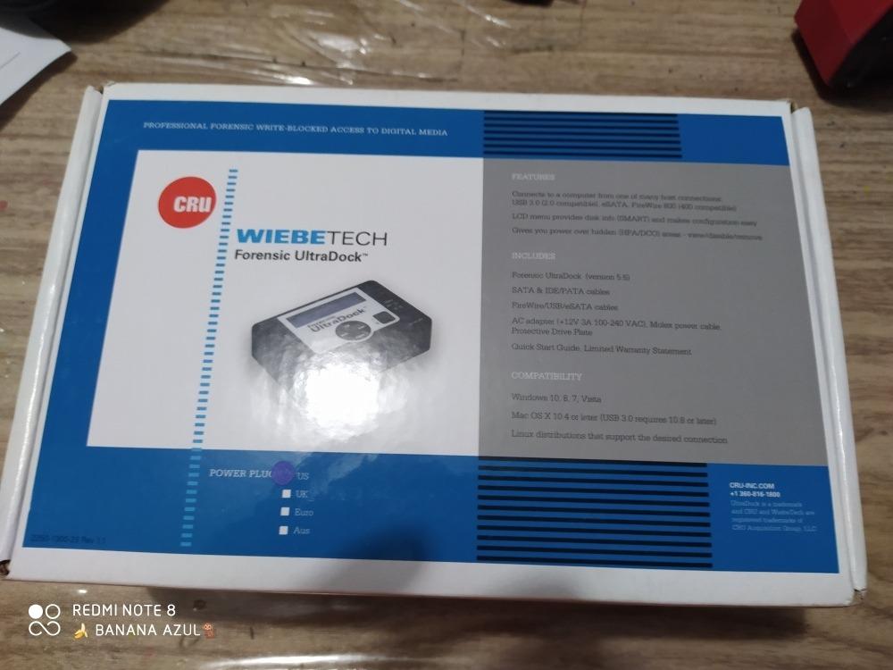 Wiebetech Forensic Ultradock 6 000 00 En Mercado Libre