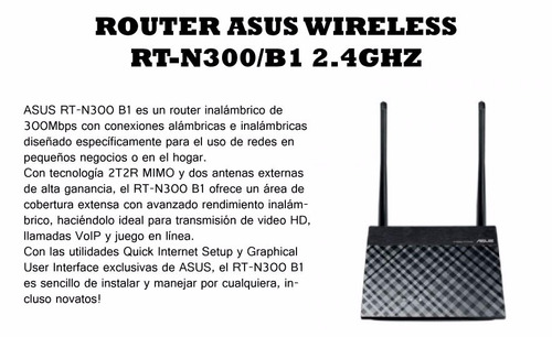 wifi asus router
