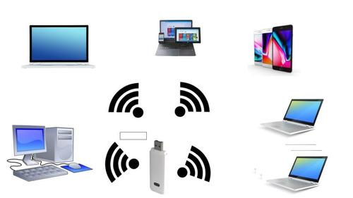 wifi en auto módem router portatil usb 4g última generación