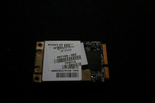 wifi hp dv 6000