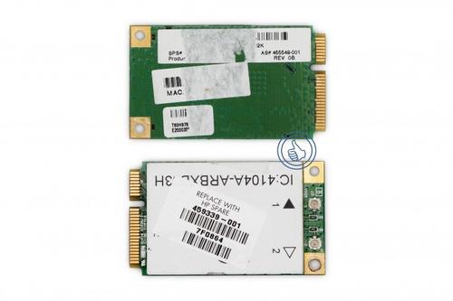 wifi hp dv2000 dv4 dv5 cq50 487330-001