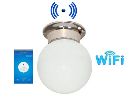 wifi lampara tipo globo app on-off